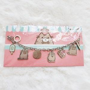 🍁 Pusheen NWT Cat & Dessert Charm Bracelet